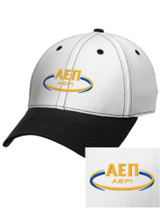 Alpha Epsilon Pi Embroidered New Era Snapback Performance Mesh Contrast Bill Cap