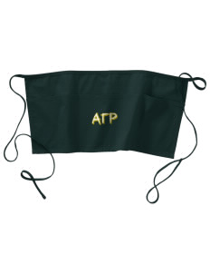 Alpha Gamma Rho Waist Apron with Pockets