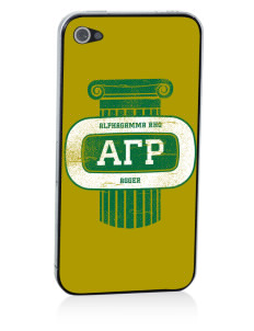 Alpha Gamma Rho Apple iPhone 4/4S Skin