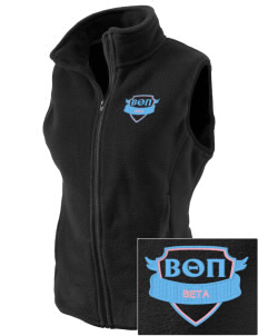Beta Theta Pi Embroidered Women's Fleece Vest