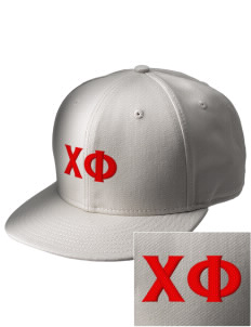 Chi Phi  Embroidered New Era Flat Bill Snapback Cap