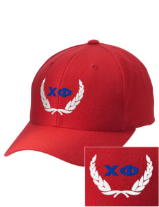 Chi Phi Embroidered Wool Adjustable Cap
