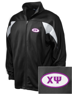 Chi Psi Embroidered Holloway Men's Full-Zip Track Jacket