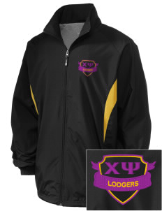 Chi Psi Embroidered Holloway Men's Full-Zip Jacket