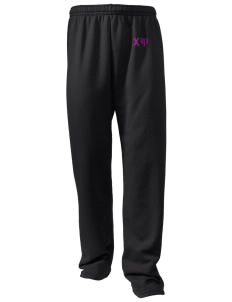 Chi Psi Embroidered Holloway Men's 50/50 Sweatpants