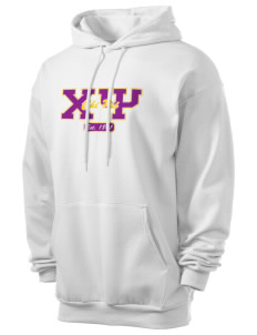 Chi Psi Men's 7.8 oz Lightweight Hooded Sweatshirt