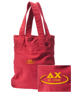 Delta Chi Embroidered Alternative The Berkeley Tote