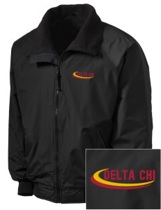 Delta Chi Embroidered Tall Men's Challenger Jacket