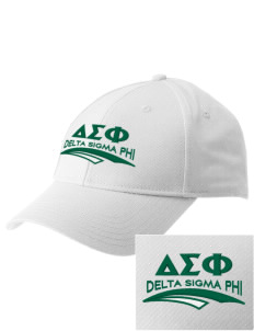 Delta Sigma Phi  Embroidered New Era Adjustable Structured Cap