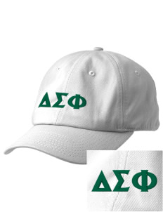 Delta Sigma Phi Embroidered Champion 6-Panel Cap