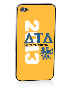 Delta Tau Delta Apple iPhone 4/4S Skin