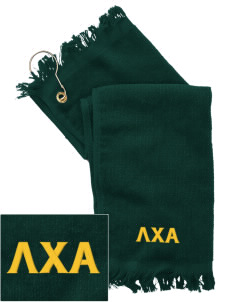 Lambda Chi Alpha  Embroidered Grommeted Finger Tip Towel
