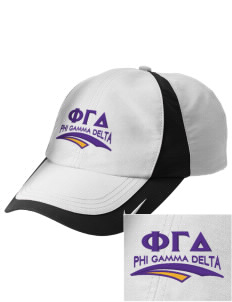 Phi Gamma Delta Embroidered Nike Golf Colorblock Cap