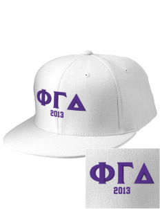 Phi Gamma Delta Embroidered Diamond Series Fitted Cap