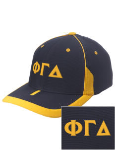 Phi Gamma Delta Embroidered M2 Universal Fitted Contrast Cap