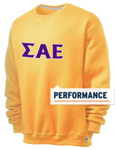 Sigma Alpha Epsilon  Russell Men's Dri-Power Crewneck Sweatshirt
