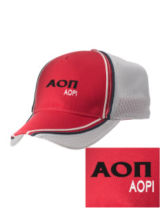 Alpha Omicron Pi  Embroidered Champion Athletic Cap