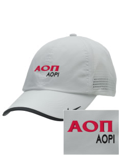 Alpha Omicron Pi Embroidered Nike Dri-FIT Swoosh Perforated Cap