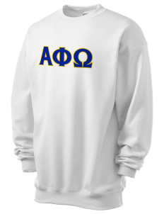 Alpha Phi Omega Men's 7.8 oz Lightweight Crewneck Sweatshirt