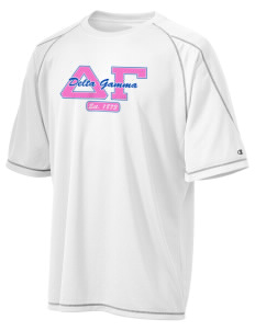 Delta Gamma Champion Men's 4.1 oz Double Dry Odor Resistance T-Shirt
