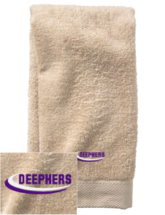 Delta Phi Epsilon  Embroidered Zero Twist Resort Hand Towel