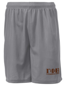 "Gamma Phi Beta Men's Mesh Shorts, 7-1/2"" Inseam"