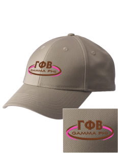 Gamma Phi Beta  Embroidered New Era Adjustable Structured Cap