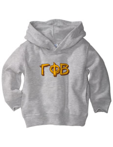 Gamma Phi Beta  Toddler Fleece Hooded Sweatshirt with Pockets