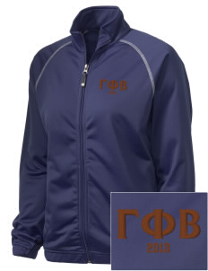 Gamma Phi Beta Embroidered Holloway Women's Attitude Warmup Jacket