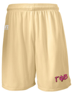 "Gamma Phi Beta  Russell Men's Mesh Shorts, 7"" Inseam"