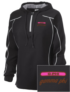 Gamma Phi Beta Embroidered Russell Women's Prestige 1/4 Zip Jacket