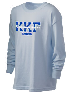 Kappa Kappa Gamma Kid's 6.1 oz Long Sleeve Ultra Cotton T-Shirt