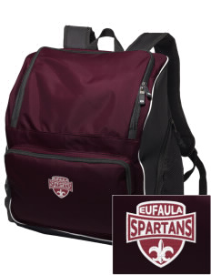 Eufaula Middle School Spartans Embroidered Holloway Backpack