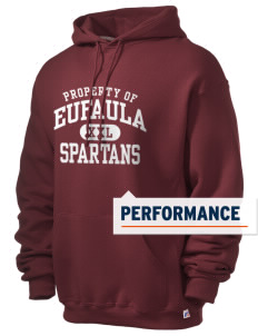 Eufaula Middle School Spartans Russell Men's Dri-Power Hooded Sweatshirt