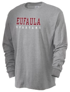 Eufaula Middle School Spartans  Russell Men's Long Sleeve T-Shirt