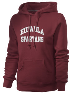 Eufaula Middle School Spartans Russell Women's Pro Cotton Fleece Hooded Sweatshirt