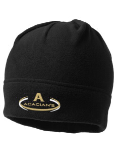 Acacia Embroidered Fleece Beanie
