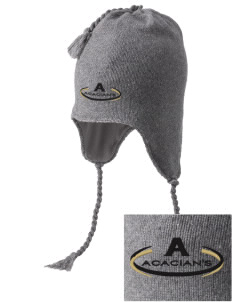 Acacia Embroidered Knit Hat with Earflaps