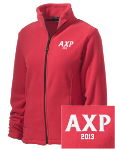 Alpha Chi Rho Embroidered Women's Wintercept Fleece Full-Zip Jacket