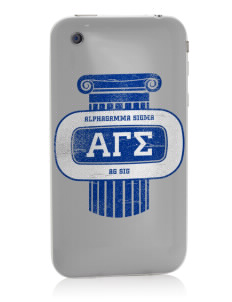 Alpha Gamma Sigma Apple iPhone 3G/ 3GS Skin