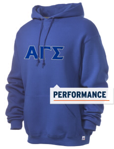 Alpha Gamma Sigma Russell Men's Dri-Power Hooded Sweatshirt