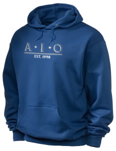 Alpha Iota Omicron Holloway Men's 50/50 Hooded Sweatshirt
