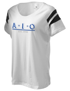 Alpha Iota Omicron Holloway Women's Shout Bi-Color T-Shirt