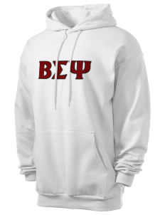 Beta Sigma Psi Men's 7.8 oz Lightweight Hooded Sweatshirt