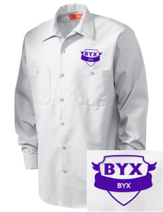 Beta Upsilon Chi Embroidered Men's Industrial Work Shirt - Regular