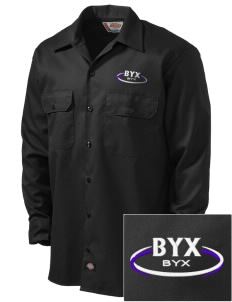 Beta Upsilon Chi Embroidered Dickies Men's Long-Sleeve Workshirt