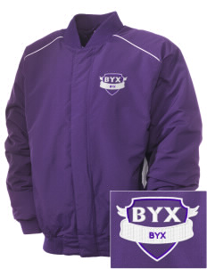 Beta Upsilon Chi Embroidered Russell Men's Baseball Jacket