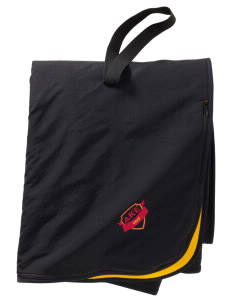 Delta Kappa Epsilon  Embroidered Fleece and Nylon Travel Blanket