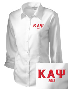 Kappa Alpha Psi Embroidered Women's 3/4 Sleeve Non-Iron