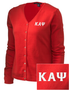 Kappa Alpha Psi Embroidered Women's Stretch Cardigan Sweater